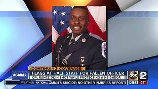 Officer killed trying to protect woman in Prince George's County, shooting suspect dead - Video