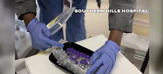 Southern Hills Hospital receives COVID-19 vaccines