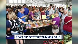Pewabic Pottery 2 day sale - Video