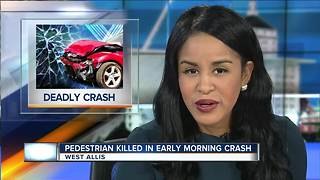 Man dies after being struck by car in West Allis - Video
