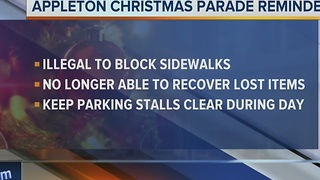 Appleton leaders on parade safety - Video