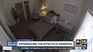 Dementia demo meant to increase awareness, understanding - Video