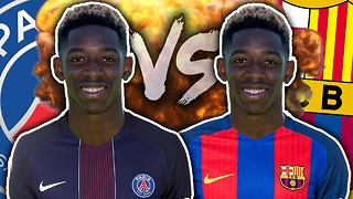 PSG & Barcelona Battle To Sign Ousmane Dembele?! | Transfer Talk - Video