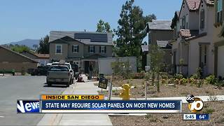 State may require solar on new homes - Video