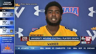 Polk County football player dies after collapsing at practice