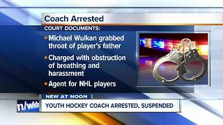 Youth hockey coach charged with choking parent