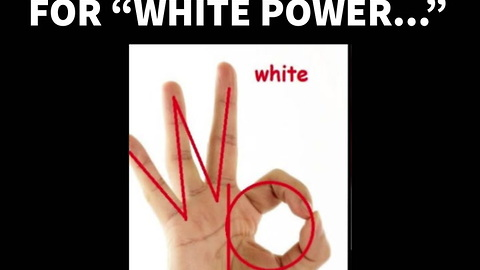 Liberals Think The OK Sign Is Racist