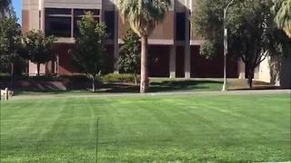 UA police investigate suspicious activity - Video
