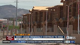 Rent, lease renewals becoming more expensive across the Las Vegas Valley - Video
