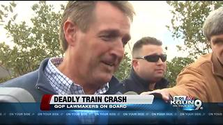 AZ lawmakers unharmed in deadly train crash - Video