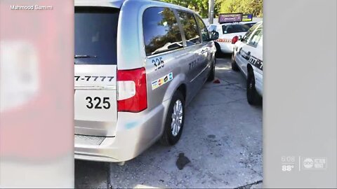 Tampa taxi driver forced into early retirement seeks help after cab company doesn't pay him