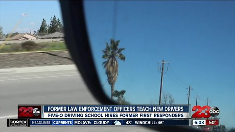 Former first responders teach new drivers in Kern County