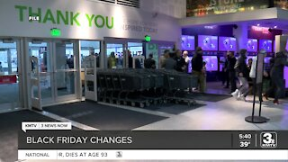 Black Friday shopping changes