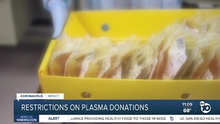 Gay men face some restriction when donating plasma