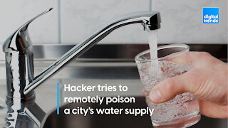 Hacker tries to remotely poison a city's water supply
