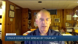 Could COVID-19 be spread by your AC?