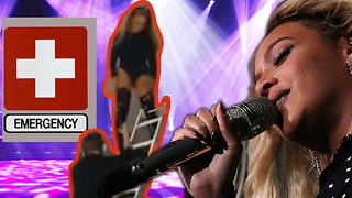 Beyonce Suffers MAJOR FAIL! - Video