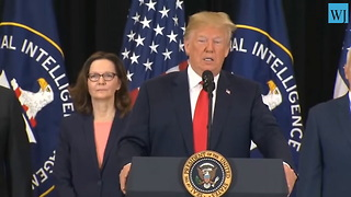 Haspel Takes Subtle Shot at Democrats During Swearing in Ceremony - Video