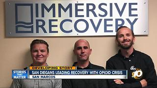 San Diegans leading recovery in opiod crisis