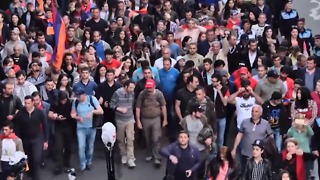 Protests Continue in Armenia Ahead of Election of Interim Prime Minister - Video