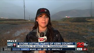 Storm hits Kern County