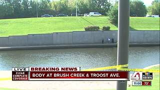 Police investigate after body found near Brush Creek - Video