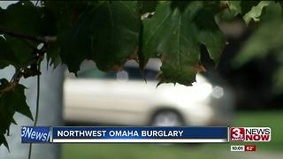 NW Omaha burglary - Video