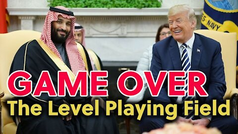 QANON & Trump - Game Over: The Level Playing Field