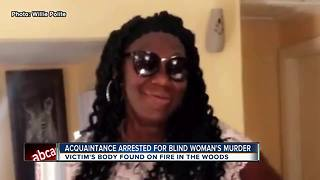Acquaintance arrested for blind woman's murder - Video