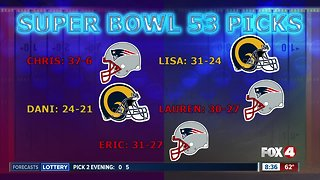 Fox 4 Morning News Super Bowl predictions