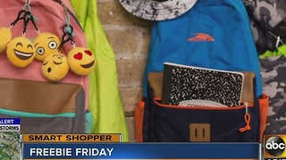 Smart Shopper: Friday freebie alert! - Video