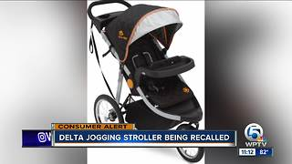 Delta recalls 'J is for Jeep' strollers over fall hazard - Video