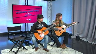 Eugene Moles and Craig Smith jamming in the 23ABC Studios ahead of the CD release party - Video
