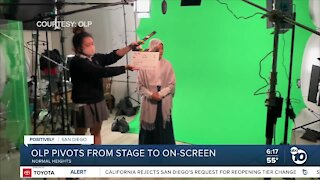 Local students take fall play from stage to on-screen