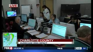 A look in side the Charlotte County call center - Video