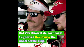 Did You Know Dale Earnhardt Supported Removing the Confederate Flag?