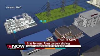 Irma Recovery: Power company strategy - Video