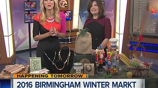 The Birmingham Winter Markt takes place Friday, December 2 - Sunday, December 4 at Shain Park - Video