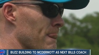 Buzz building with Sean McDermott and the Buffalo Bills (1/10/17) - Video