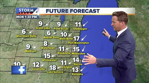 Chilly weather stays this week