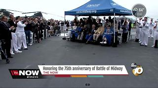 Honoring the 75th anniversary of Battle of Midway - Video