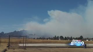 Fast-moving Knob Hill fire now covering 1500 acres - Video