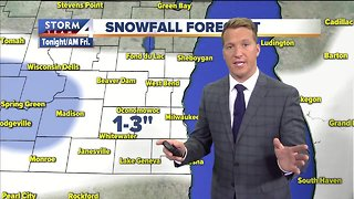 More snow coming Friday night - Video