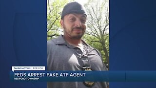Redford man facing federal charges for allegedly posing as ATF agent
