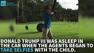 Two Secret Service Agents Under Investigation For Snapping Selfies With Trump's Sleeping Grandson