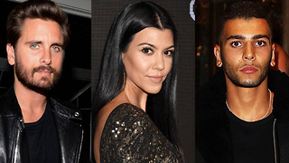Kourtney Kardashian SHADES Younes By Comparing Him To Scott Disick! - Video