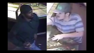 Suspects wanted for jewelry store robbery in Phoenix - Video