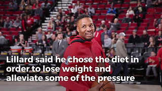Damian Lillard Quits Vegan Diet After Losing Too Much Weight - Video