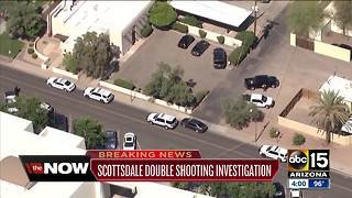 Police investigating double shooting in Scottsdale - Video