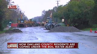 How Oakland County residents are coping under the Boil Water Alert - Video